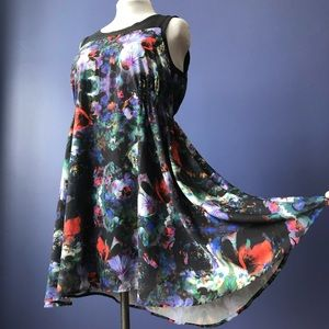 Colorful Floral H&M MAMA Maternity Dress Large